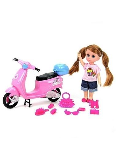 Vardem G-Kutulu 6,3 İnç Scooterli Bebek Aksesuarli Renkli